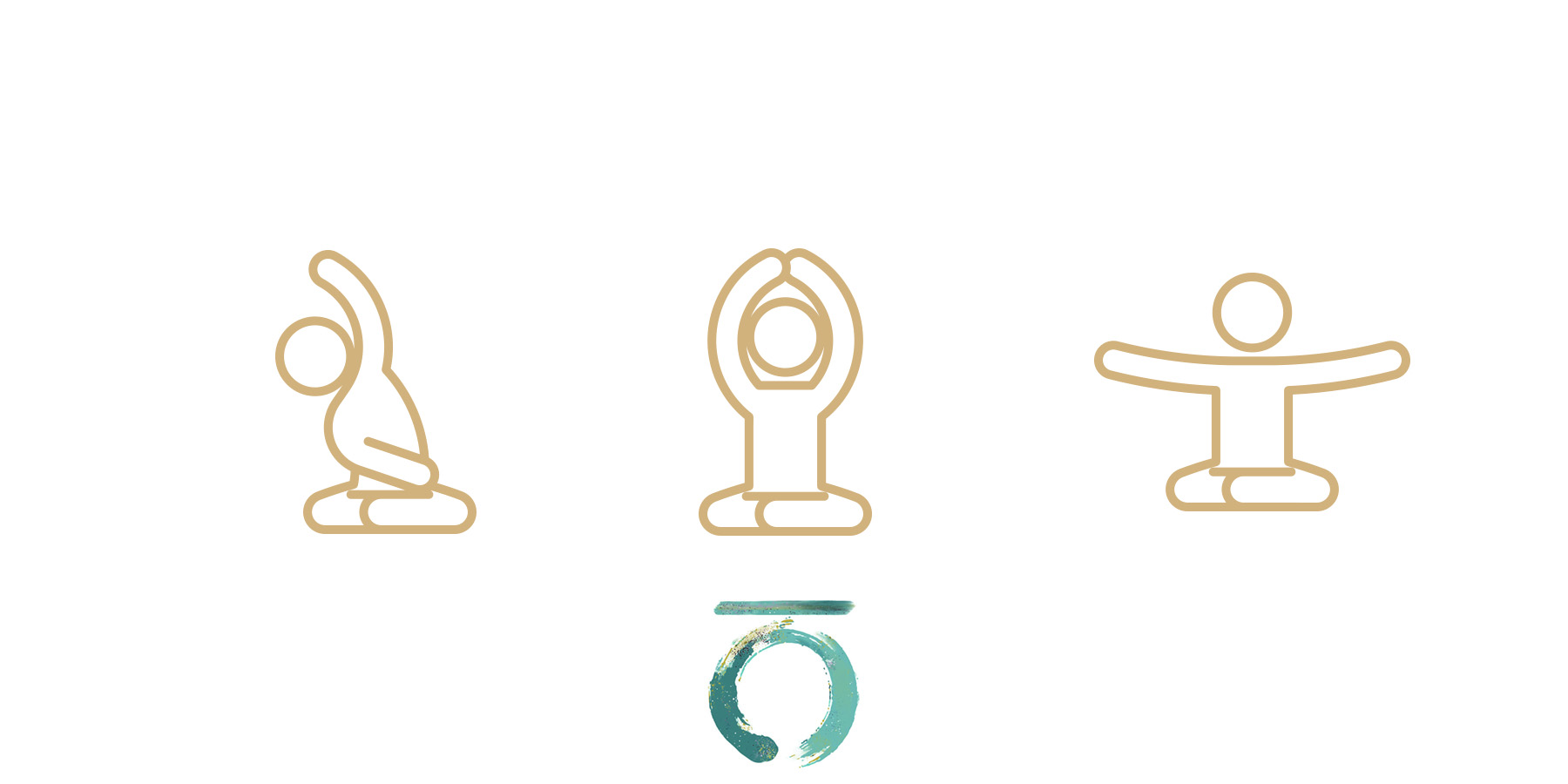 travel yoga icons