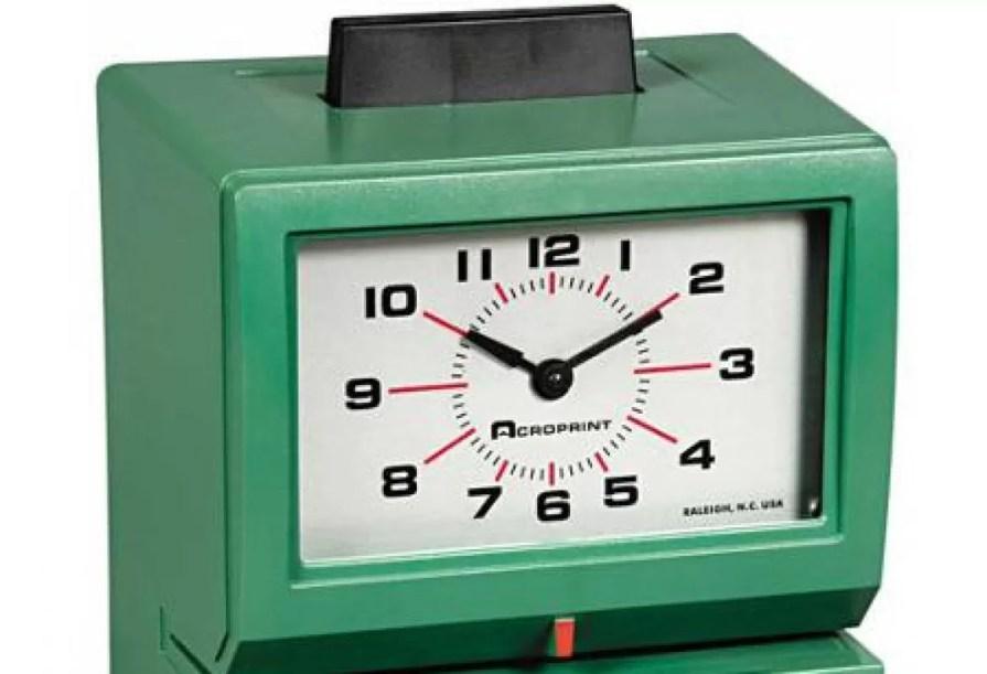 Time Clock Repair & Time Stamp Repair Services in MD, DC and VA