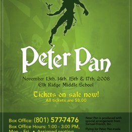 Peter Pan - Show Poster