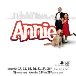 Annie 2009 - Show Poster