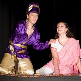 Aladdin Jr - Al and Jasmine on Carpet