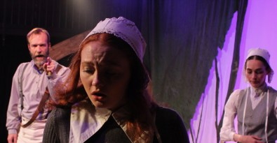 The Crucible: Proctor and Mary