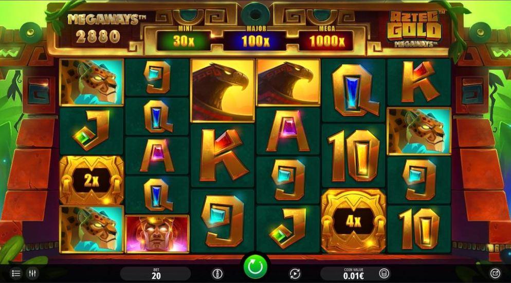 Aztec Slots - Aztec Gold Megaways