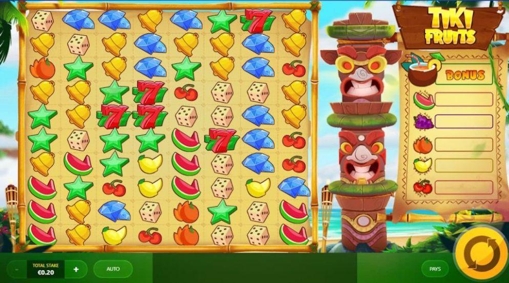 Tiki Slots - Tiki Fruits