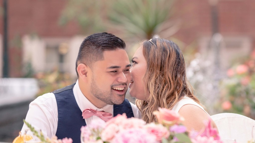 The Ten Best Photos of 2020 #3 by Ken Clough Photography. <!-- wp:paragraph --><p>This is a cherished candid moment that was captured at Mharj and Gary's wedding ceremony. Mharj and Gary had a wonderful and intimate wedding ceremony in the courtyard at <a href=