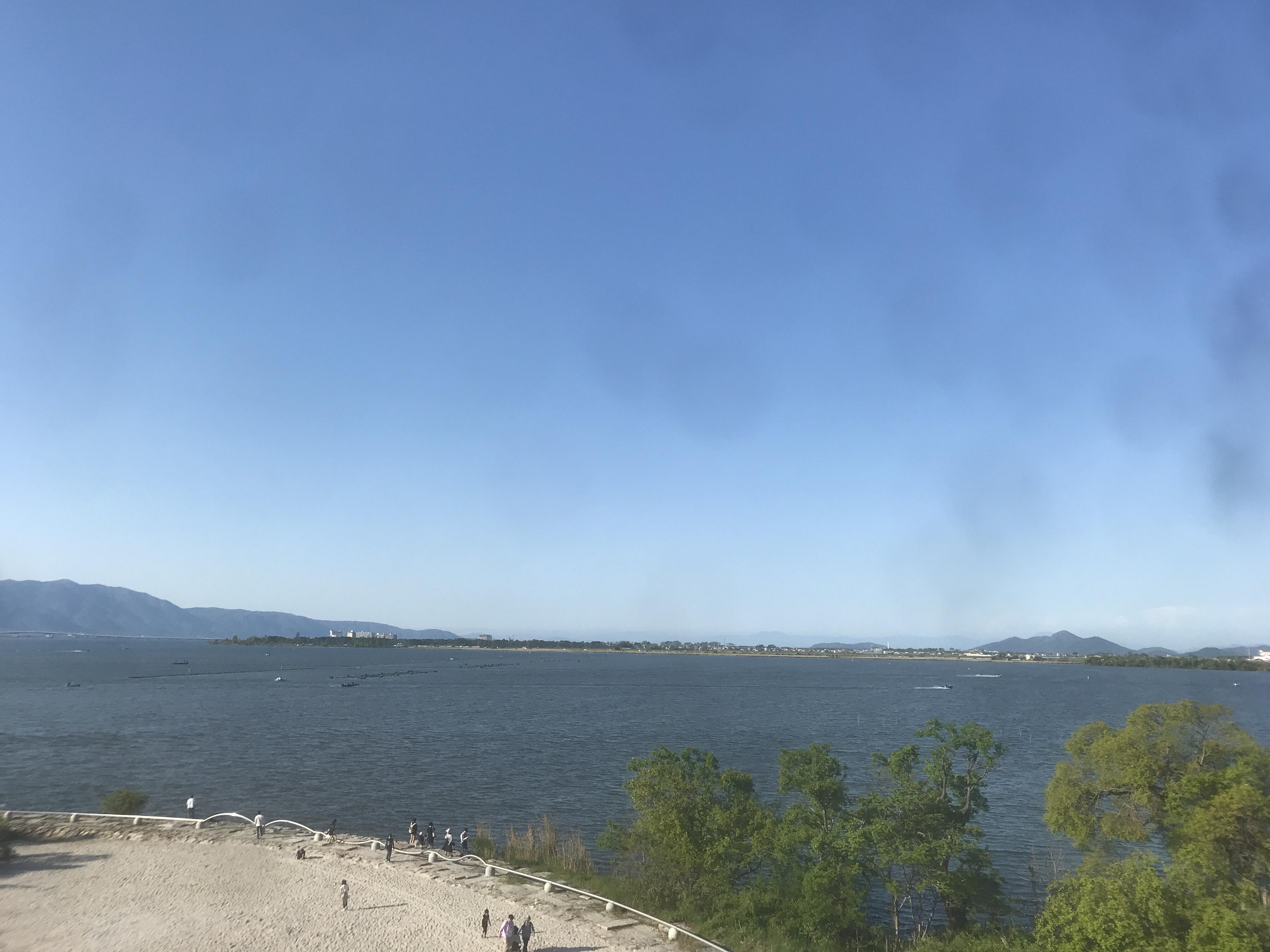 琵琶湖博物館は水族館と博物館と自然の融合施設だった件。