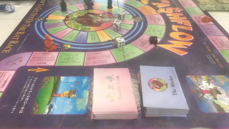 キャッシュフローゲームを体験。お金について学ぶ。