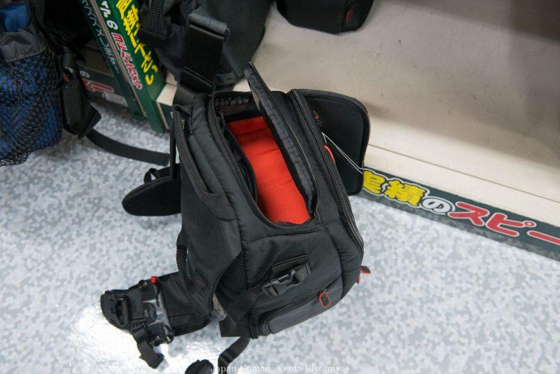 日本一周で使うカメラバッグはこれだ!一眼レフの携帯方法を考えてみた-Japan Nomad (41)
