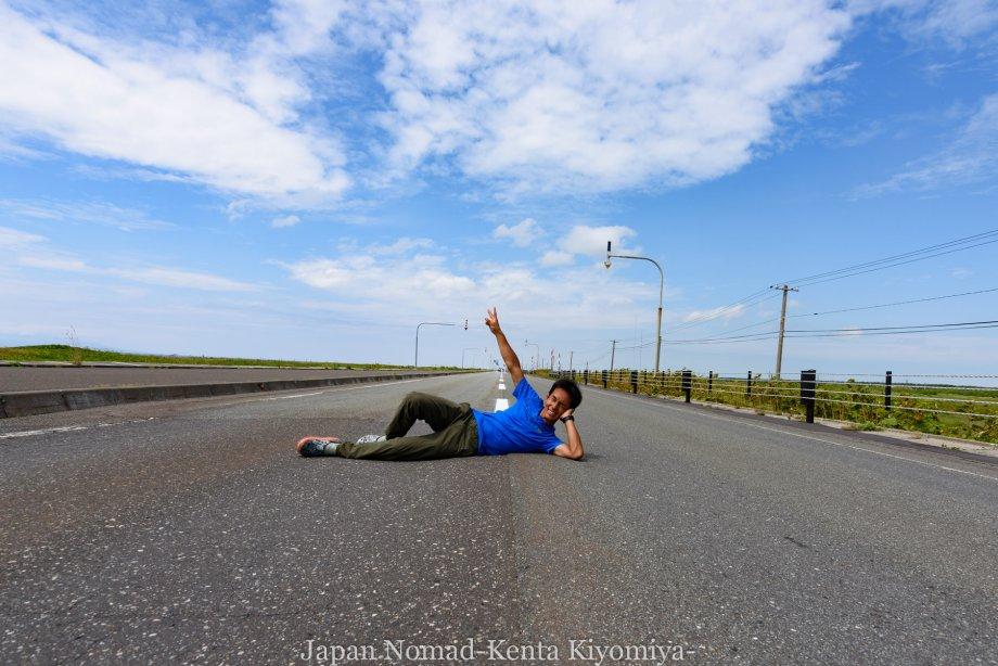 自転車日本一周82日目(オロロンライン)-Japan Nomad (24)