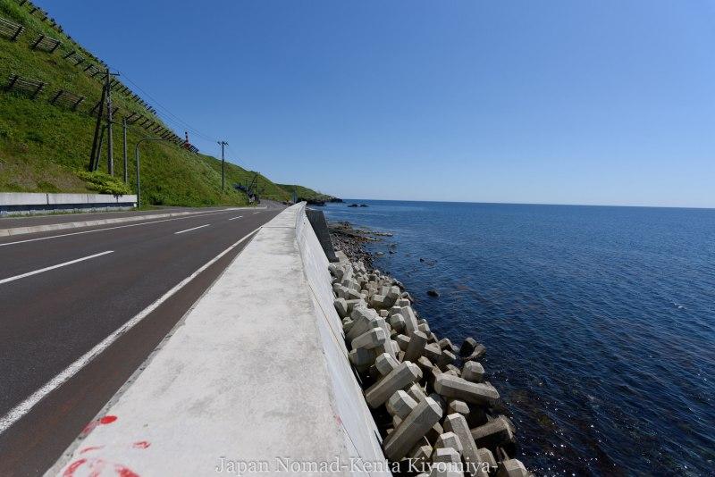 自転車日本一周85日目(利尻島)-Japan Nomad (20)