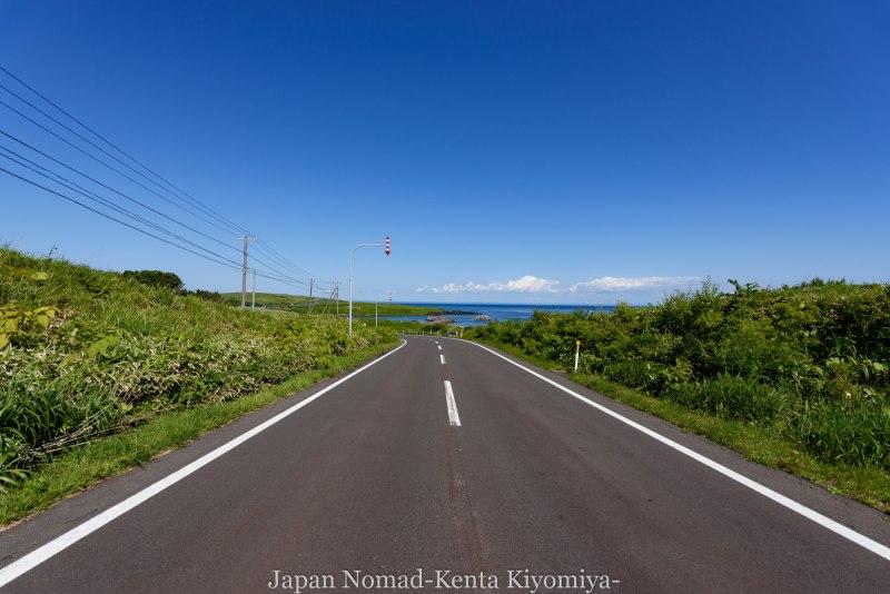 自転車日本一周85日目(利尻島)-Japan Nomad (26)