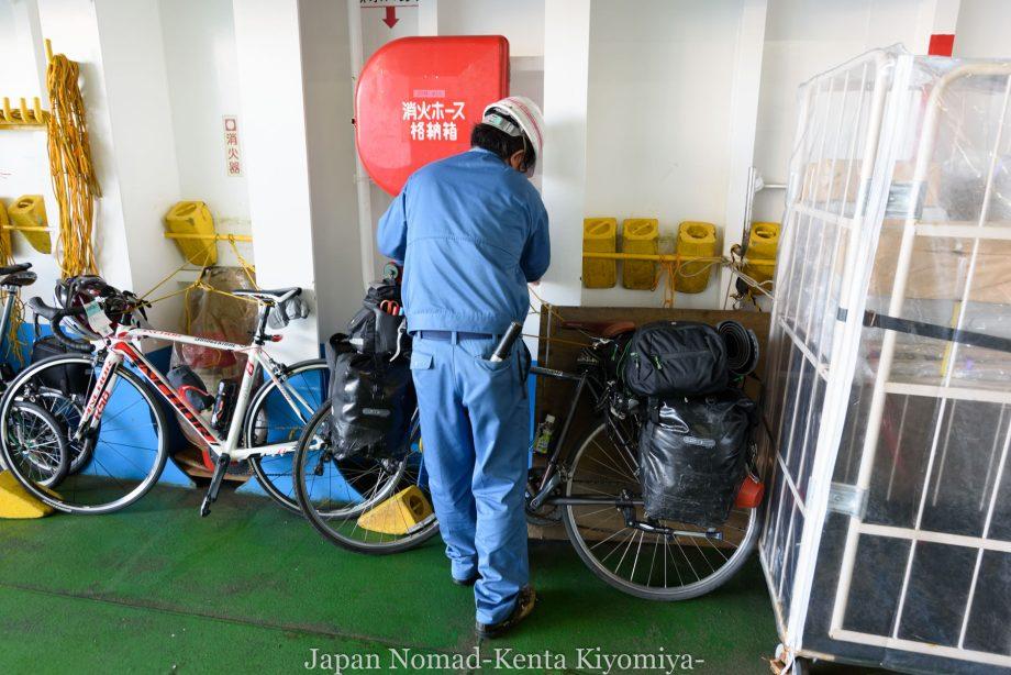 自転車日本一周85日目(利尻島)-Japan Nomad (5)