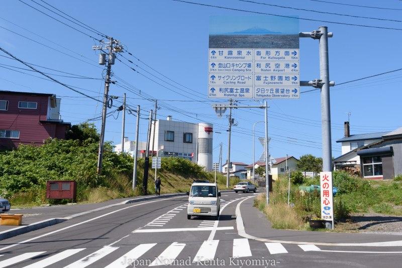 自転車日本一周85日目(利尻島)-Japan Nomad (7)