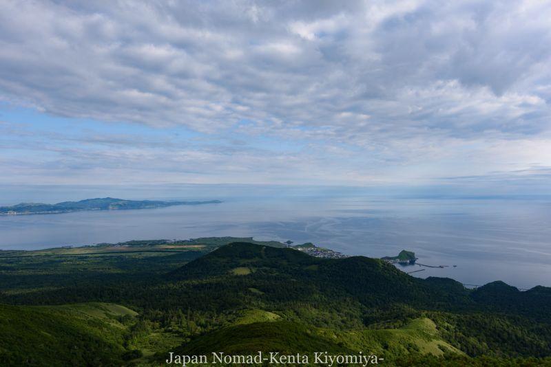 自転車日本一周86日目(利尻山)-Japan Nomad (16)