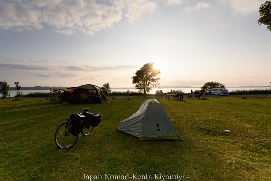 自転車日本一周89日目(宗谷岬、クッチャロ湖)-Japan Nomad (34)