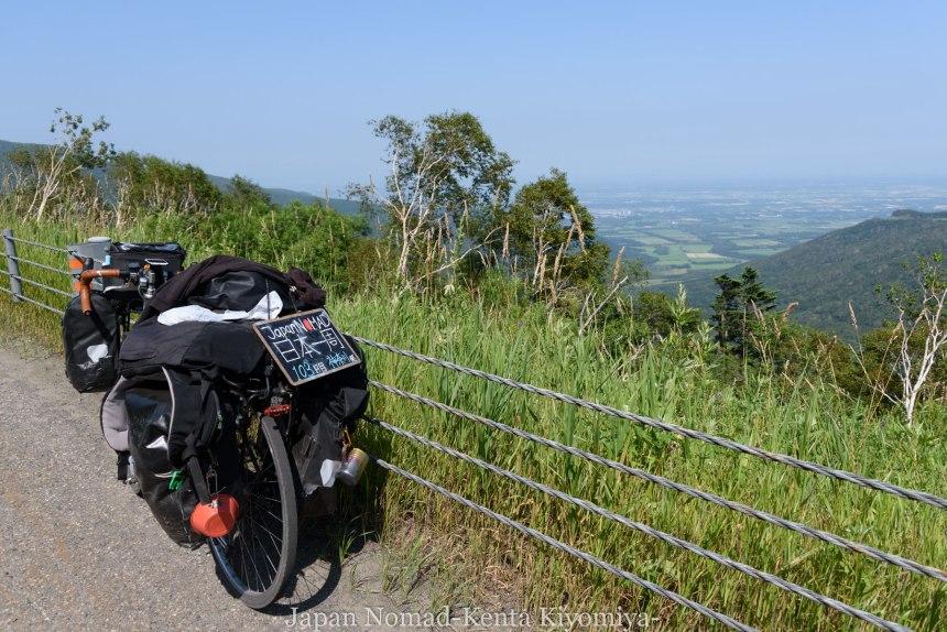 自転車日本一周(日勝峠)-Japan Nomad (21)