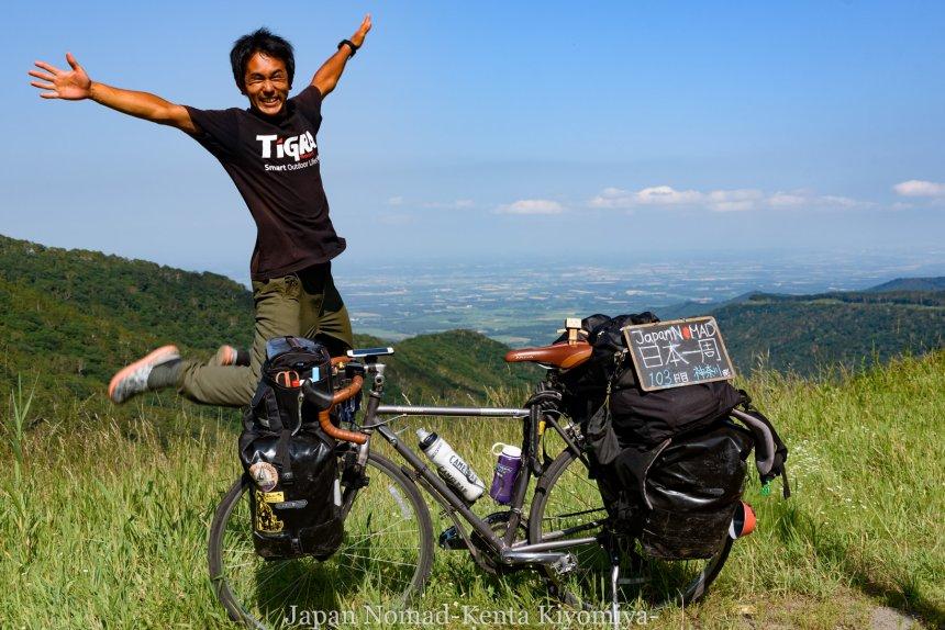 自転車日本一周(日勝峠)-Japan Nomad (26)