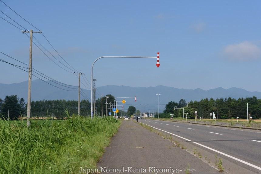 自転車日本一周(日勝峠)-Japan Nomad (5)