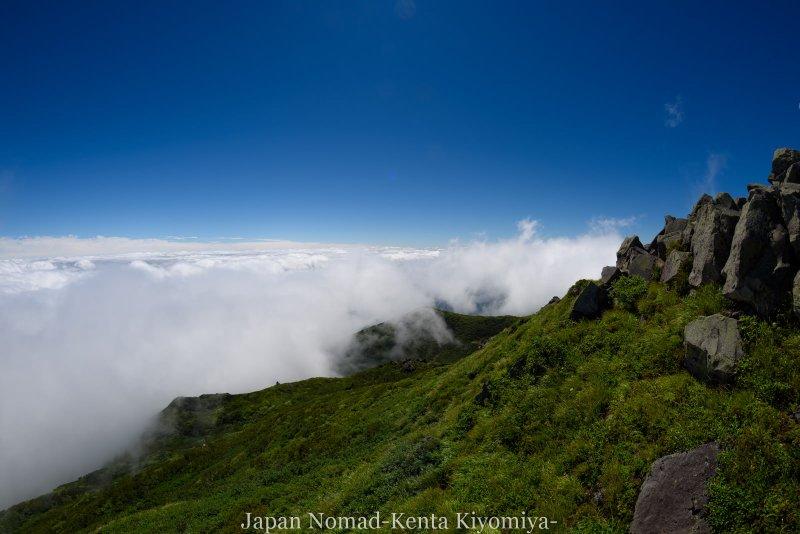 自転車日本一周123日目(岩木山)-Japan Nomad (78)