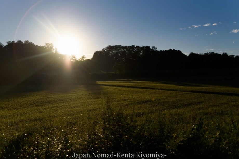 自転車日本一周123日目(岩木山)-Japan Nomad (8)