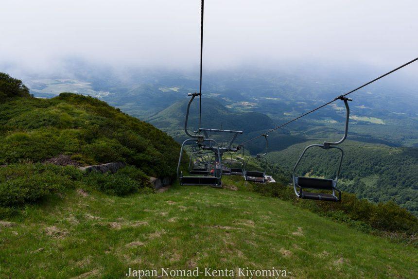 自転車日本一周123日目(岩木山)-Japan Nomad (87)