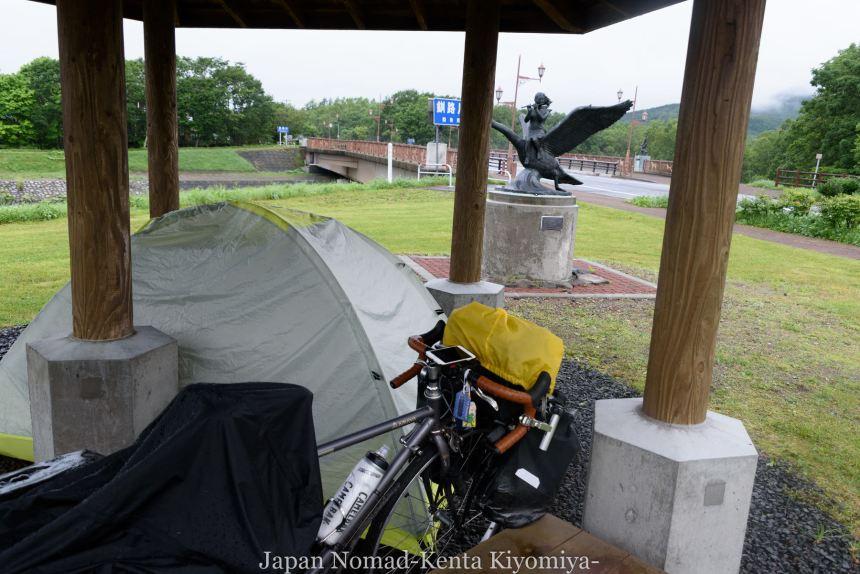 自転車日本一周98日目(阿寒湖、アイヌコタン、まりも)-Japan Nomad (1)