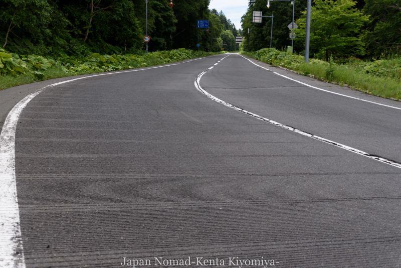 自転車日本一周99日目(オンネトー、雌阿寒岳)-Japan Nomad (4)