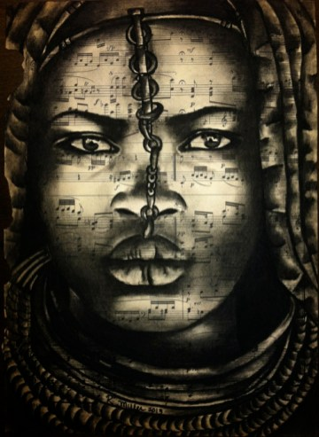 Himba Woman of Namibia By Rebecca Miller