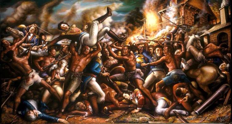 Haiti Revolution Ulrick Jean-Pierre's Paintings 7