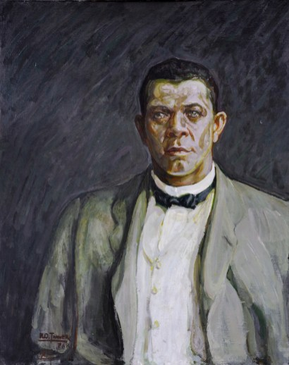 Portrait of Booker T. washungton, 1917 by Henry Ossawa Tanner