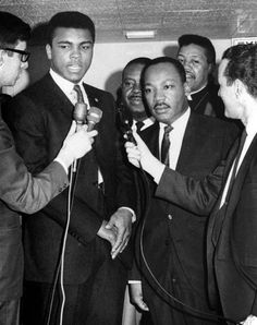 with Martin Luther King jr