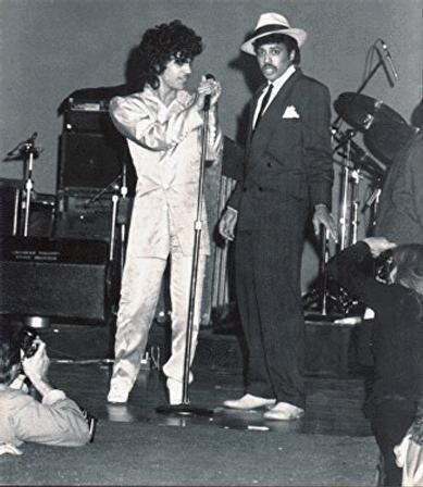 Prince with Morris Day