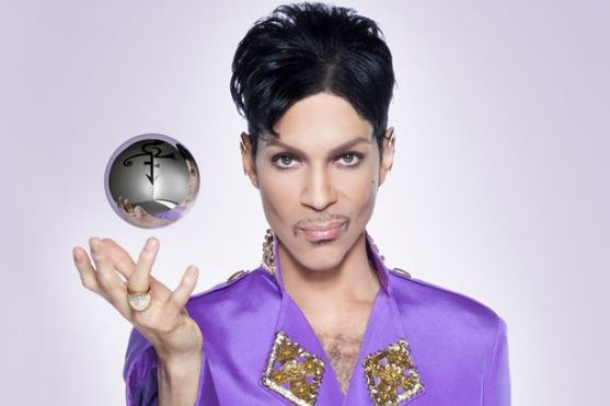 Prince with symbol