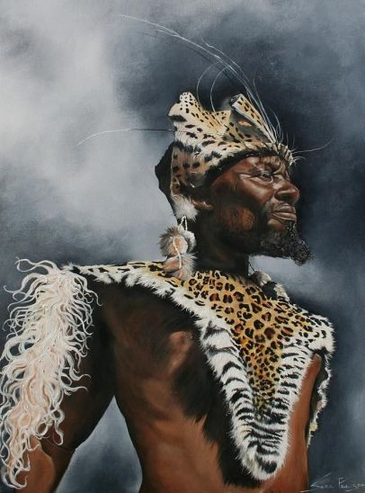 Zulu Warrior by Stella Pelser