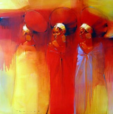 Zulu Women by Peter Pharoah