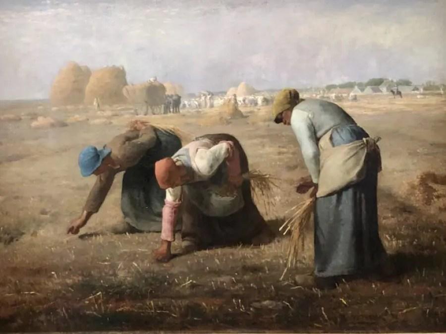 Millet-The-Gleaners-Landscape