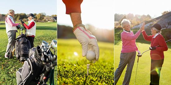 golf reklamfoto