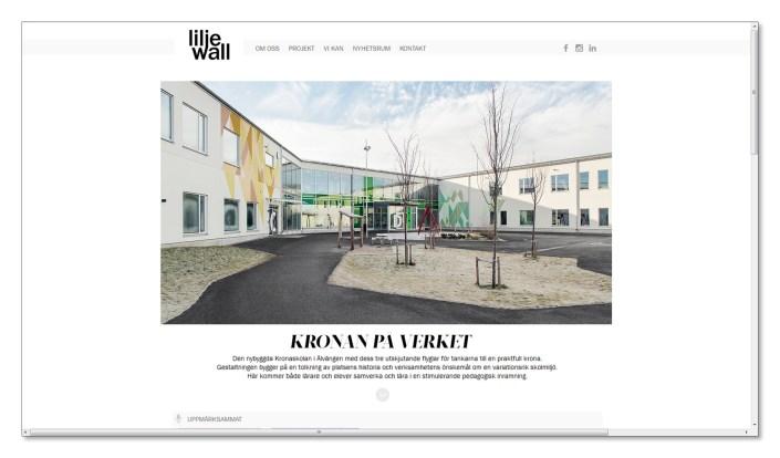 Liljewall arkitektur fotograf arkitekturfotografi
