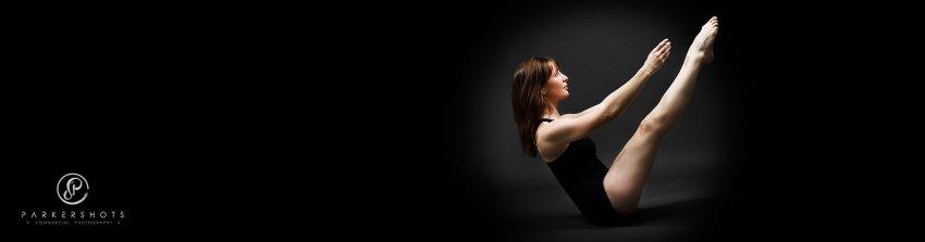 Yoga pose photographer