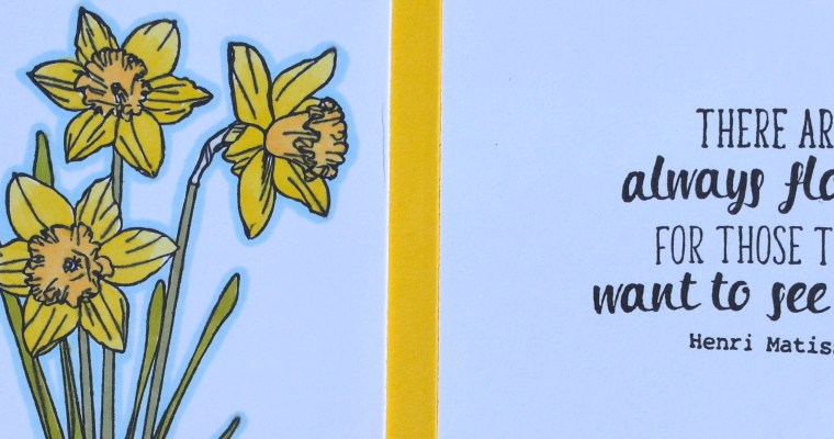 Creative Stamping – There Are Always Flowers