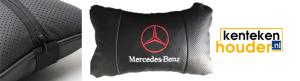 Mercedes-benz-lederen-hoofdsteun-kussen
