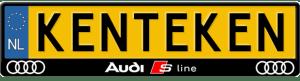 Audi-S-line-3D-kentekenplaathouder
