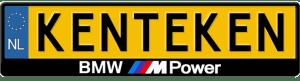 BMW-M-power-kentekenplaathouder