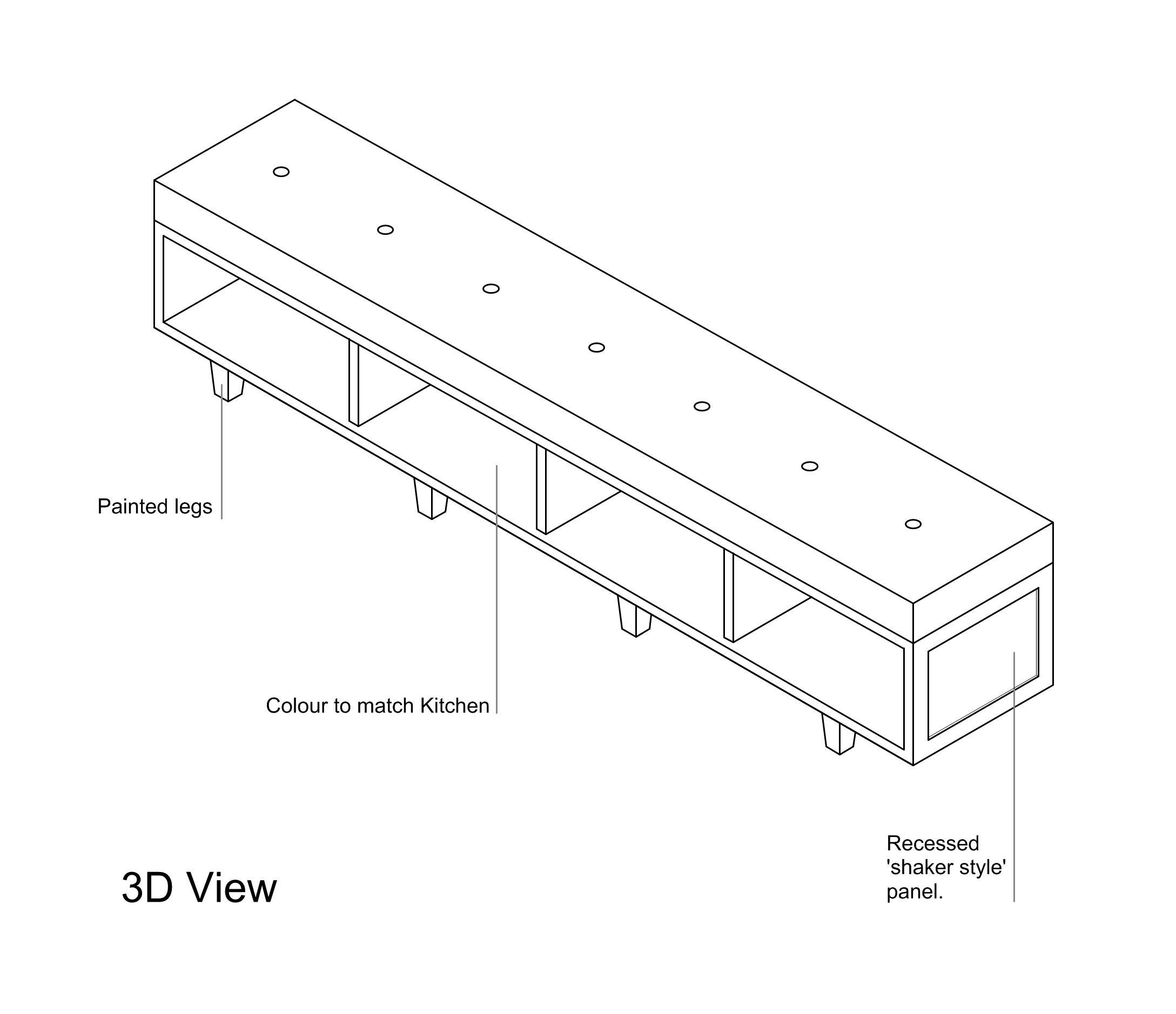 Furniture Detail Drawings Kent Griffiths Design