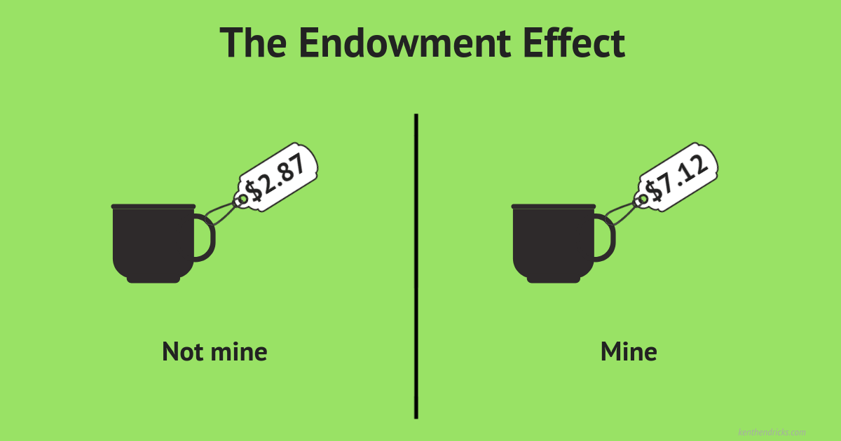 The Endowment Effect: Why ownership makes you overvalue your things - Kent Hendricks