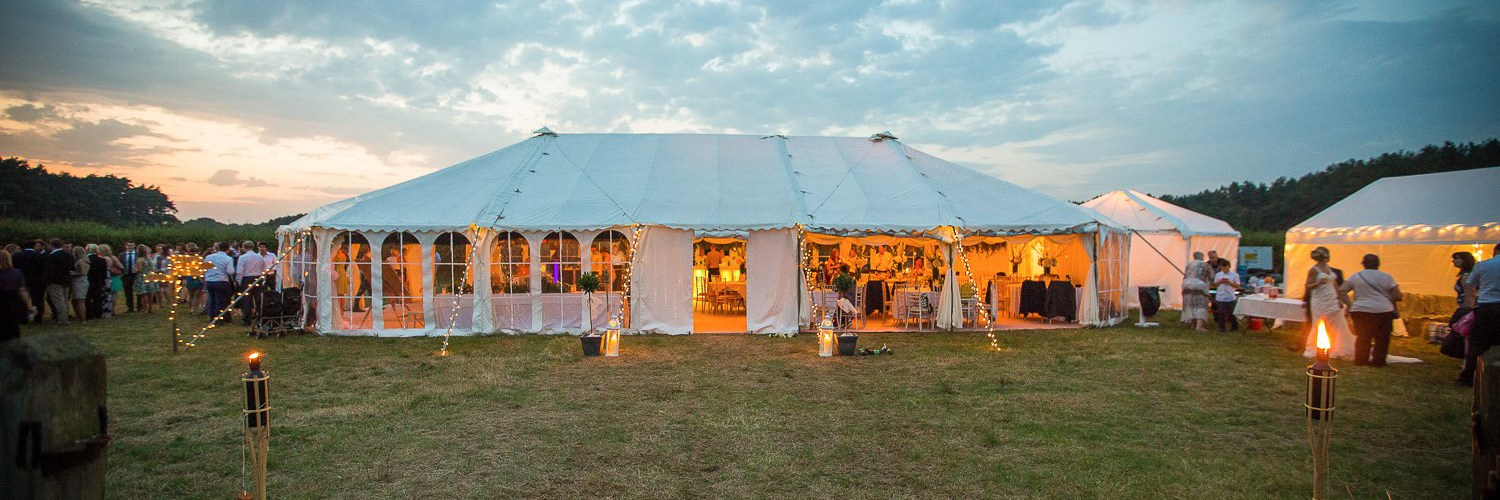Kent Marquees | Hire bespoke marquees for your event.