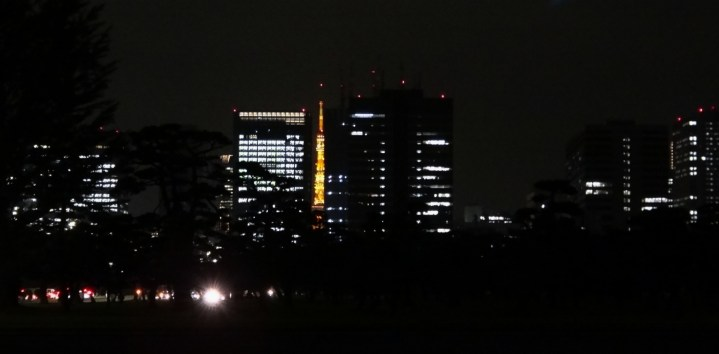 30. Tokyo Tower from Imperial Palace