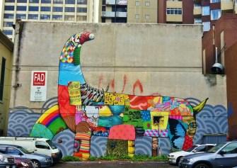 Melbourne Chinatown graffiti