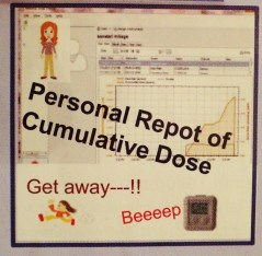 Personal dosage report