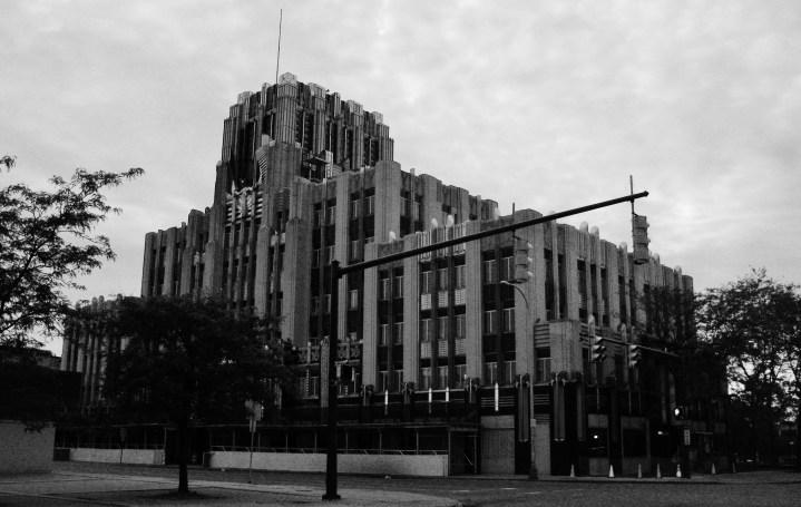 Niagara Mohawk Building B&W